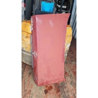Mercedes Benz 190E W201 red rear boot lid