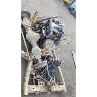 MMC Pajero Manual Chassis cut with axles E16010