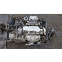 Honda D16Y4 Automatic complete engine E15803