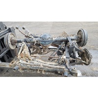 Isuzu 4wd front & back axle set with springs E16001