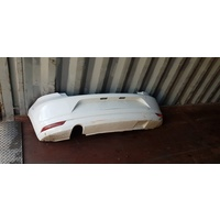 Rear Bar Volkswagon Polo 2014 CJZ type White E16376