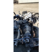 Isuzu 4x4 chassis cut 6vd1 manual E16549