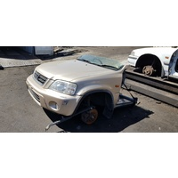 Gold Honda CRV 2001 automatic half cut e16984