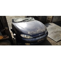 Blue Hyundai FX Coupe 1997 Manual Half Cut e17160