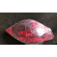 Peugeot 207 2009 left back light lamp rear light