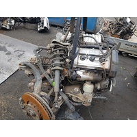 VW PASSAT 2002 BBG 2.8litre V6 engine with auto E18758