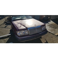 Mercedes red 220E W124 halfcut E220 1993 full set E19885