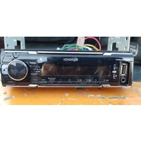 Kenwood USB CD player radio single din unit size