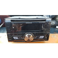 Kenwood CD player radio with USB and Double din unit size