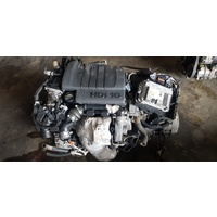 Peugeot 207 1.6 Hdi16 turbo diesel manual engine