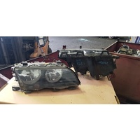 BMW E46 complete front light set lamp E20123