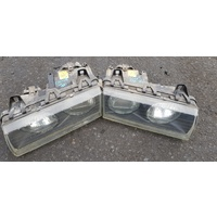 BMW E36 front head light lamp set left and right set E20265