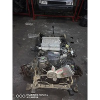 Isuzu Bighorn 4JX1 Turbo diesel 4x4 engine manual axles chassis cut E21020