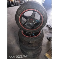 Honda Civic Tyre and Sports Rim set of 4 E20925