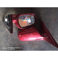 Honda Civic EK 97 electric door mirror set red E20925