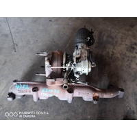 Isuzu 4JX1 Turbo with manifold set as in picture E21020