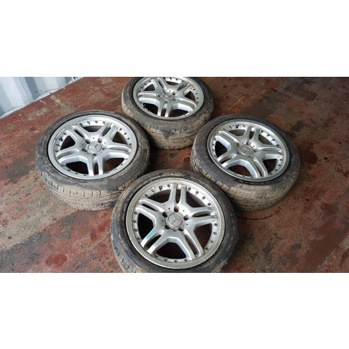 Mercedes Benz Factory Alloy rims Genuine full set